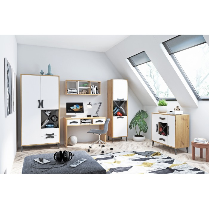 Jugendzimmermöbel Komplett Set MAX 5-teilig