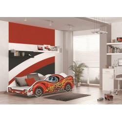 Kinderbett CARS 180x90 cm mit Matratze